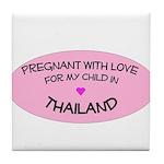 Thailand Adoption Tile Coaster