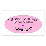 Thailand Adoption Rectangle Sticker