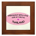 Thailand Adoption Framed Tile