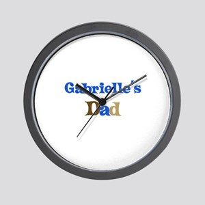 Gabrielle's Dad Wall Clock