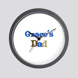 Grace's Dad Wall Clock