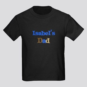 Isabel's Dad Kids Dark T-Shirt