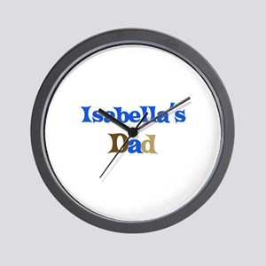 Isabella's Dad Wall Clock