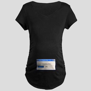 Baby in Progress Maternity Dark T-Shirt