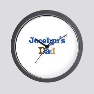 Jocelyn's Dad Wall Clock