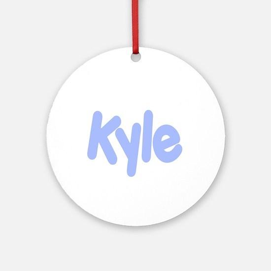Kyle Ornament (Round)