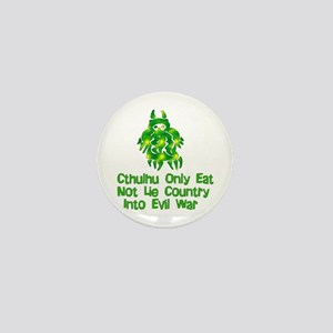 Cthulhu Party Humor Mini Button