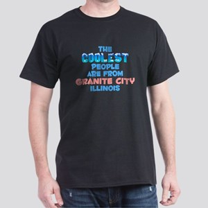 Coolest: Granite City, IL Dark T-Shirt