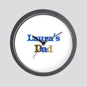 Laura's Dad Wall Clock