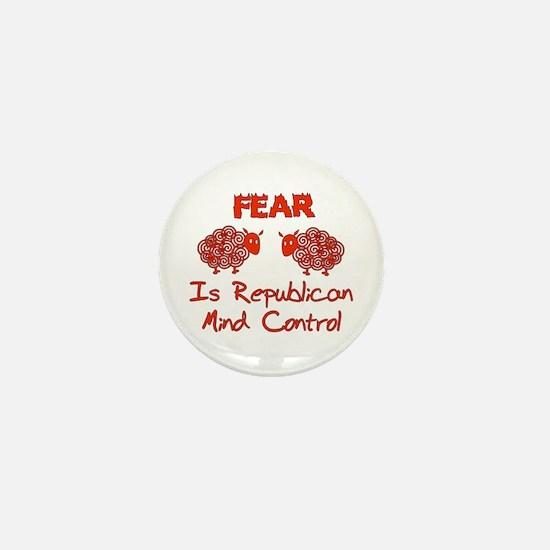 Fear Politics Mini Button