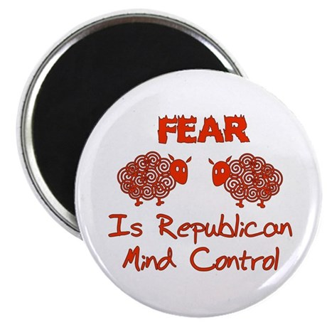"Fear Politics 2.25"" Magnet (100 pack)"