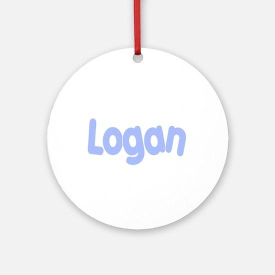 Logan Ornament (Round)