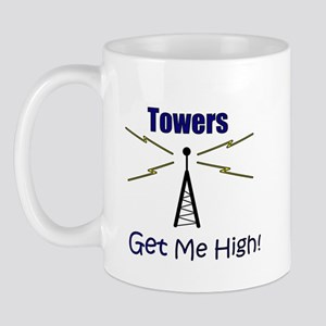 Towers Make Me High! Mug
