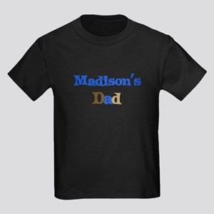 Madison's Dad Kids Dark T-Shirt