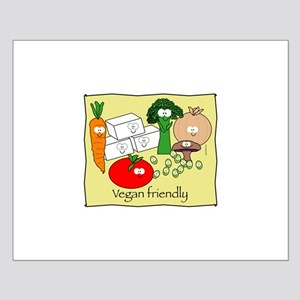 Vegan Friendly Small Poster