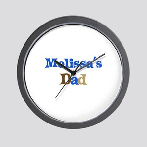 Melissa's Dad Wall Clock
