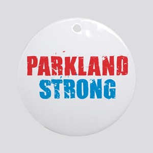 Parkland Strong Round Ornament