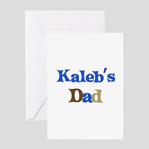 Kaleb's Dad Greeting Card