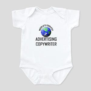 World's Coolest ADVERTISING COPYWRITER Infant Body