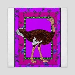 Ostrich Queen Duvet