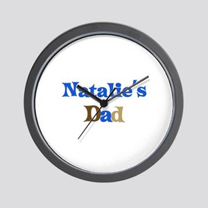 Natalie's Dad Wall Clock