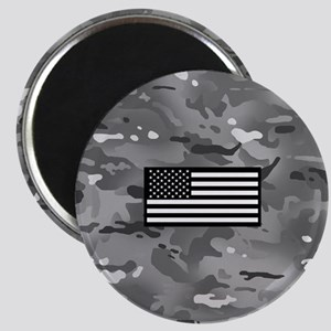 U.S. Flag: Urban Camouflage Magnet