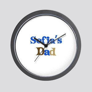 Sofia's Dad Wall Clock