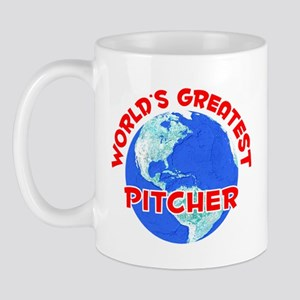 World's Greatest Pitcher (F) Mug