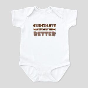 Cute Chocolate Saying Infant Bodysuit