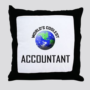World's Coolest ACCOUNTANT Throw Pillow