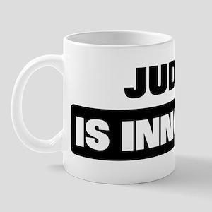 JUDITH is innocent Mug