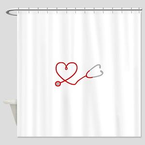 I love Medicine Shower Curtain