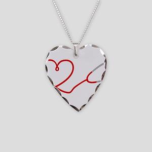 I love Medicine Necklace Heart Charm