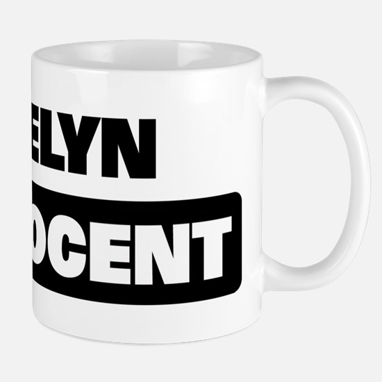 JOSELYN is innocent Mug