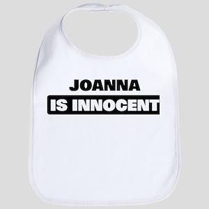 JOANNA is innocent Bib