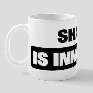 SHANE is innocent Mug
