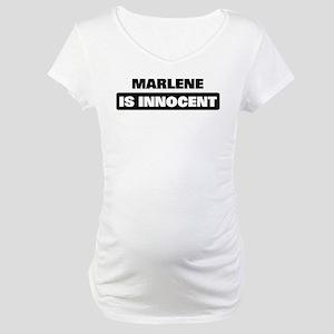 MARLENE is innocent Maternity T-Shirt