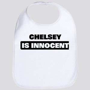CHELSEY is innocent Bib