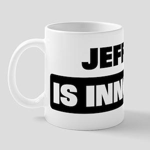 JEFFERY is innocent Mug