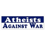 Atheists Against War (bumper sticker)