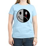 Happy Face Sad Face Women's Light T-Shirt
