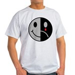 Happy Face Sad Face Light T-Shirt