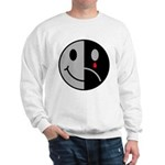 Happy Face Sad Face Sweatshirt