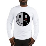 Happy Face Sad Face Long Sleeve T-Shirt