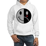 Happy Face Sad Face Hooded Sweatshirt
