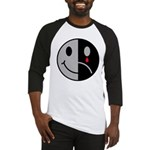 Happy Face Sad Face Baseball Jersey