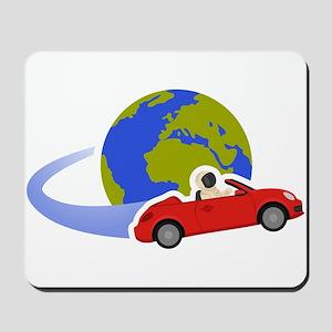 Where Is Roadster Swoosh Logo Mousepad