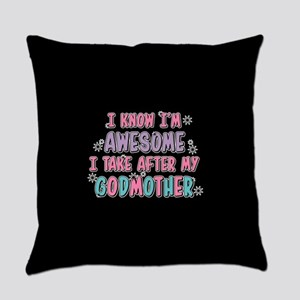 Take After My Godmother Everyday Pillow