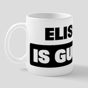 ELISSA is guilty Mug
