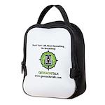 design updated Neoprene Lunch Bag
